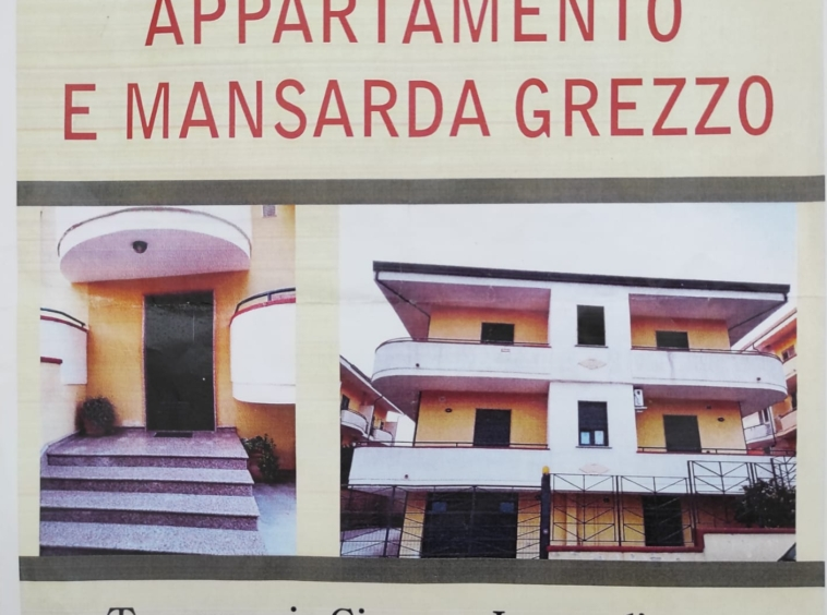 Vendesi appartamento e mansarda calvi risorta